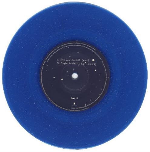 "Laura Veirs Don't Lose Yourself - Blue vinyl 7"" vinyl single (7 inch record) UK LVA07DO393883"