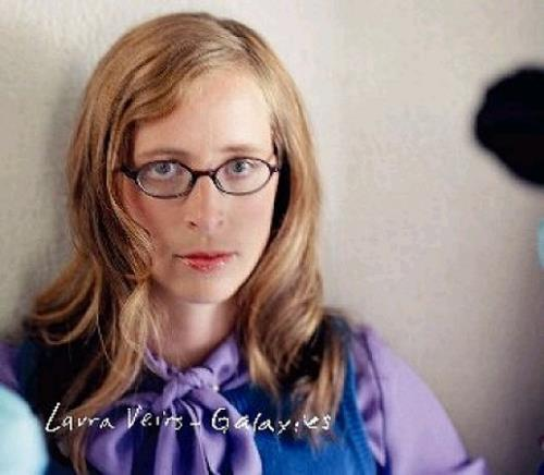 "Laura Veirs Galaxies 7"" vinyl single (7 inch record) UK LVA07GA338620"