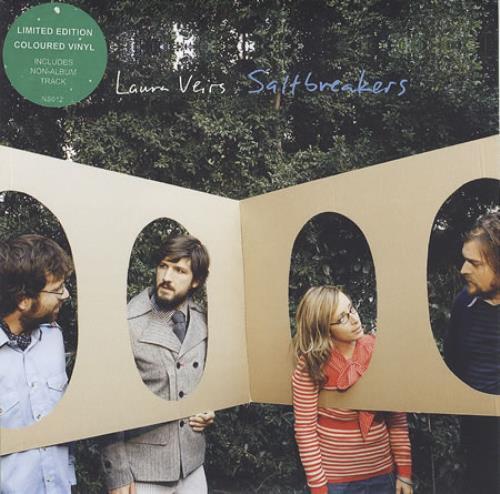 "Laura Veirs Saltbreakers 7"" vinyl single (7 inch record) UK LVA07SA409469"