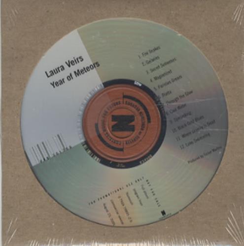 Laura Veirs Year Of Meteors CD album (CDLP) UK LVACDYE345750