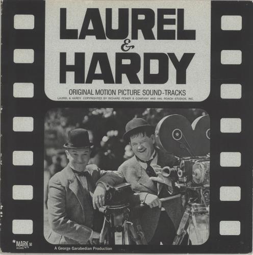 Laurel & Hardy (Comedy) Original Motion Picture Soundtracks picture disc LP (vinyl picture disc album) US L+HPDOR692342