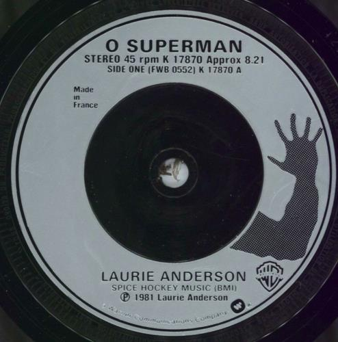 Laurie Anderson O Superman French 7