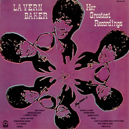 LaVern Baker Her Greatest Recordings vinyl LP album (LP record) US LVKLPHE487470