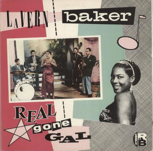LaVern Baker Real Gone Gal vinyl LP album (LP record) US LVKLPRE712358
