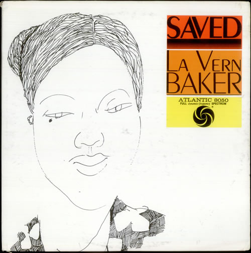 LaVern Baker Saved vinyl LP album (LP record) US LVKLPSA535476