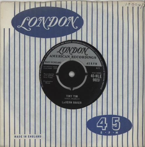 "LaVern Baker Tiny Tim 7"" vinyl single (7 inch record) UK LVK07TI659470"