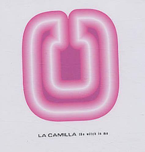 """La Camilla The Witch In Me CD single (CD5 / 5"""") Swedish LACC5TH69482"""