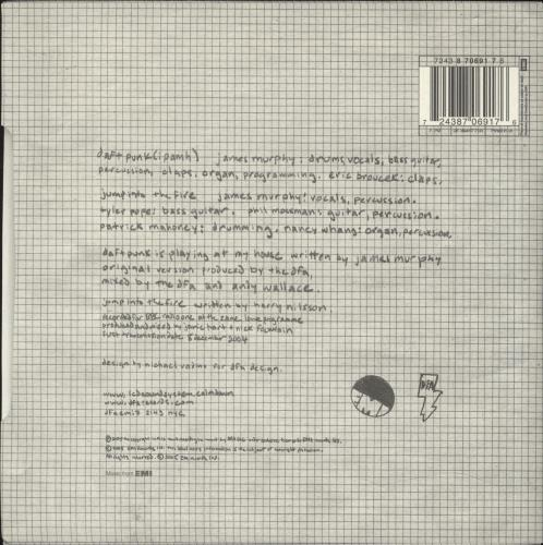 "LCD Soundsystem Daft Punk Is Playing At My House 7"" vinyl single (7 inch record) UK CDS07DA317992"