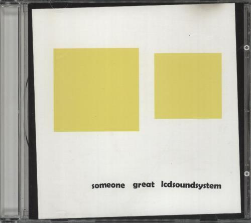 "LCD Soundsystem Someone Great CD single (CD5 / 5"") UK CDSC5SO416729"