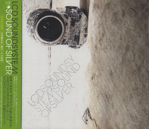 LCD Soundsystem Sound Of Silver CD album (CDLP) Japanese CDSCDSO492558