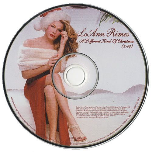 A Different Kind Of Christmas.Leann Rimes A Different Kind Of Christmas Us Promo Cd Single Cd5 5