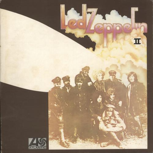 Led Zeppelin Led Zeppelin II - 2nd - EX vinyl LP album (LP record) UK ZEPLPLE528402