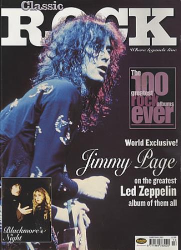 led zeppelin classic rock christmas 2001 magazine uk zepmacl403916 - Led Zeppelin Christmas