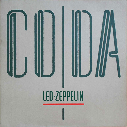 Led Zeppelin Coda - 1st - EX vinyl LP album (LP record) UK ZEPLPCO210273