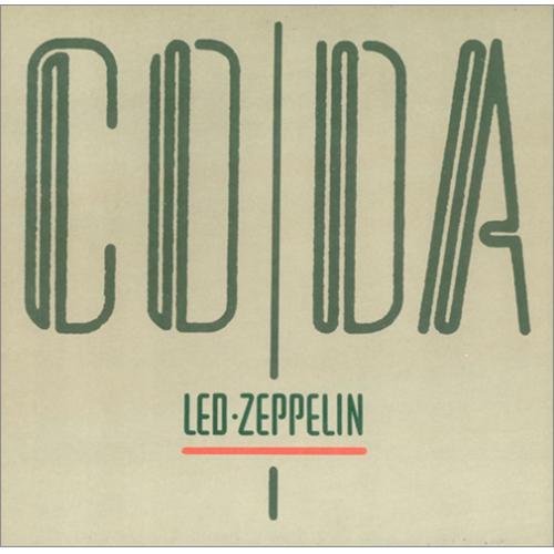 Led Zeppelin Coda - 1st vinyl LP album (LP record) German ZEPLPCO416782