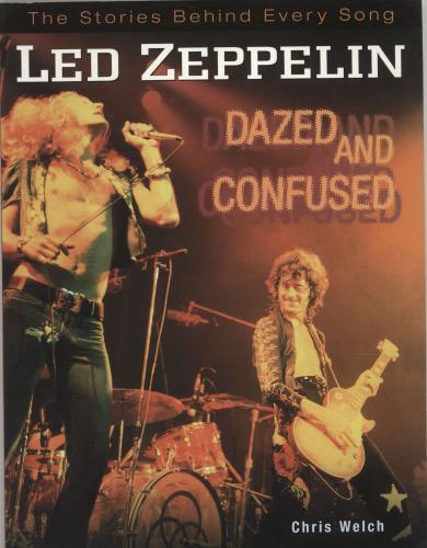 Led Zeppelin Dazed And Confused book UK ZEPBKDA692993