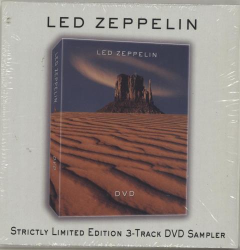 Led Zeppelin DVD Sampler DVD Single German ZEPDSDV620282