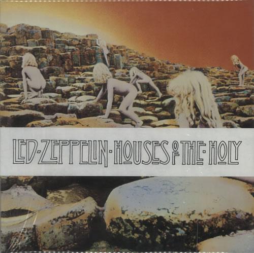 Led Zeppelin Houses Of The Holy - 180gm - Sealed vinyl LP album (LP record) US ZEPLPHO201398