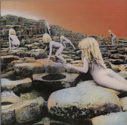 Led Zeppelin Houses Of The Holy - 1st + Bellyband vinyl LP album (LP record) UK ZEPLPHO216962
