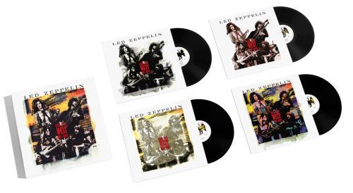 Led Zeppelin How The West Was Won [4-LP] - Sealed Vinyl Box Set UK ZEPVXHO693204