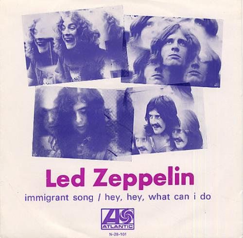Led Zeppelin Immigrant Song Portugese 7