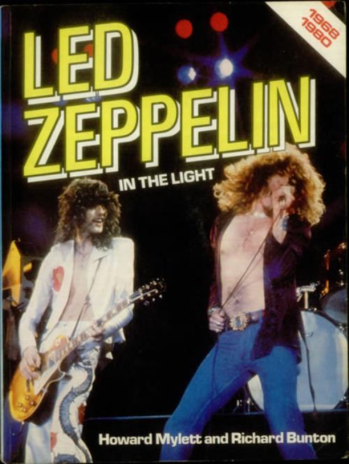 Led Zeppelin In The Light book UK ZEPBKIN545969