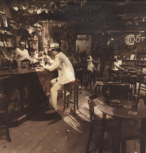 Led Zeppelin In Through The Out Door - 1st A + Outer vinyl LP album (LP record) UK ZEPLPIN61511