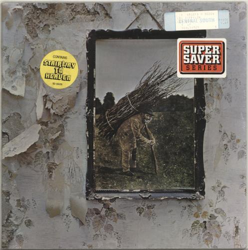 Led Zeppelin Led Zeppelin 4 - Sealed vinyl LP album (LP record) US ZEPLPLE101340
