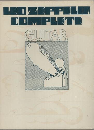 Led Zeppelin Led Zeppelin Complete: Guitar book US ZEPBKLE666297