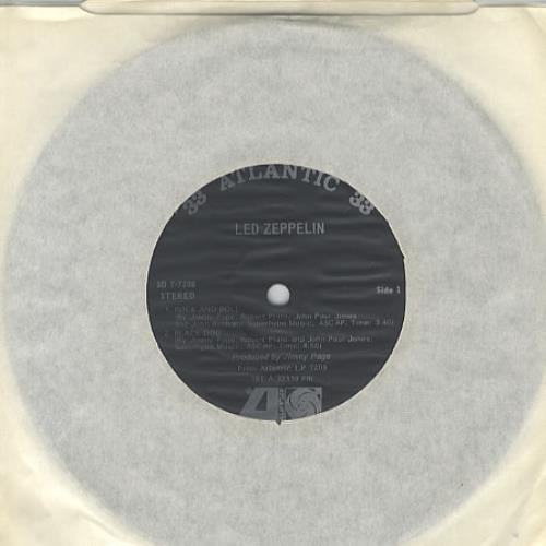 "Led Zeppelin Led Zeppelin EP 7"" vinyl single (7 inch record) US ZEP07LE335036"
