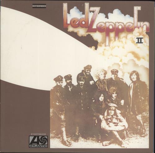 Led Zeppelin Led Zeppelin II - 180gm 2-LP vinyl record set (Double Album) German ZEP2LLE663215