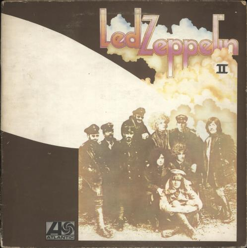 Led Zeppelin Led Zeppelin II - 2nd - VG vinyl LP album (LP record) UK ZEPLPLE582061