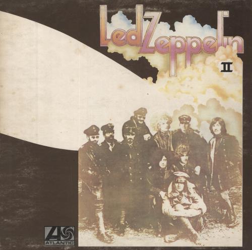Led Zeppelin Led Zeppelin II - 2nd - VG vinyl LP album (LP record) UK ZEPLPLE582061