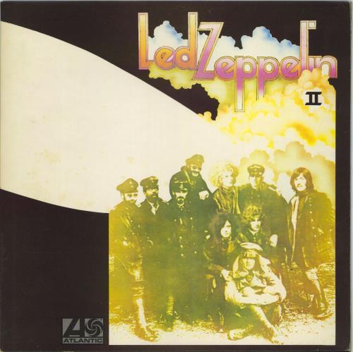 Led Zeppelin Led Zeppelin II - 4th - EX vinyl LP album (LP record) UK ZEPLPLE771117