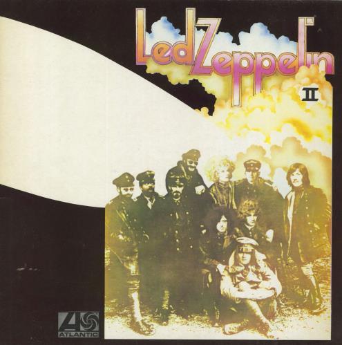 Led Zeppelin Led Zeppelin II - 7th - EX vinyl LP album (LP record) UK ZEPLPLE684899