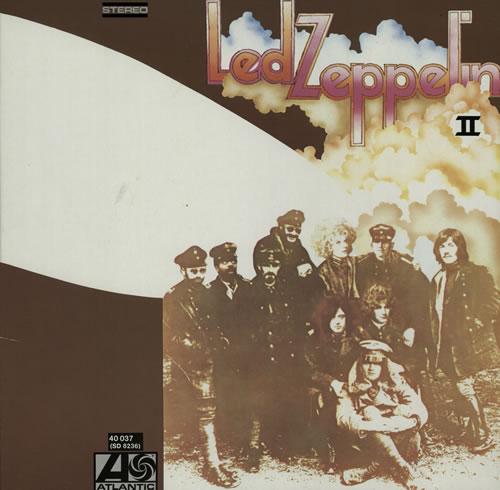 Led Zeppelin Led Zeppelin II - 80s vinyl LP album (LP record) German ZEPLPLE573662