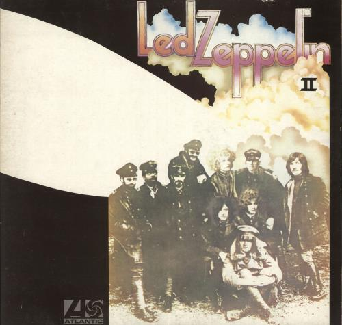 Led Zeppelin Led Zeppelin II - 9th vinyl LP album (LP record) UK ZEPLPLE655948