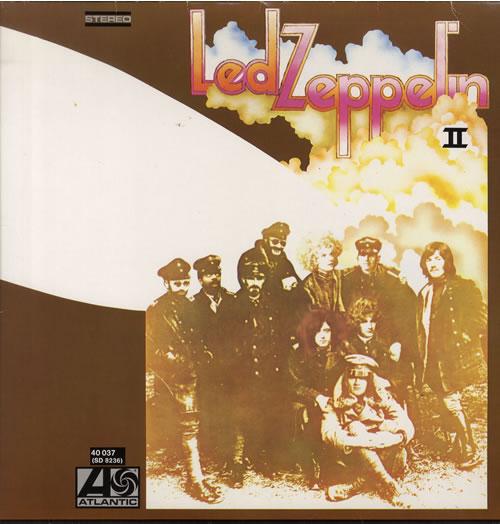 Led Zeppelin Led Zeppelin II - Mid 80s vinyl LP album (LP record) German ZEPLPLE558221