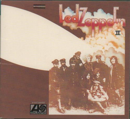 Led Zeppelin Led Zeppelin II CD album (CDLP) UK ZEPCDLE655776
