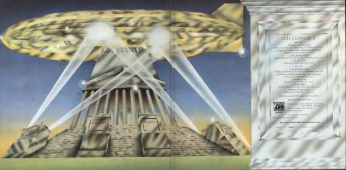Led Zeppelin Led Zeppelin II vinyl LP album (LP record) Italian ZEPLPLE726788