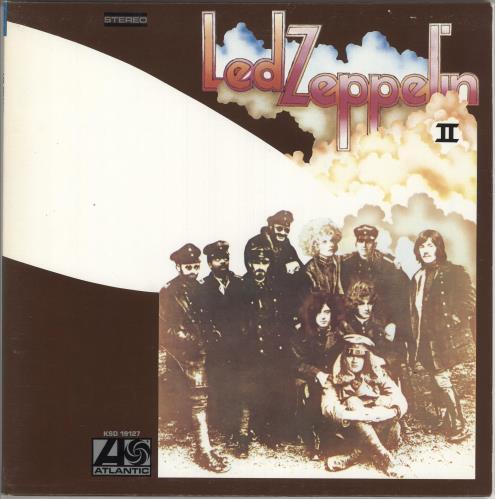 Led Zeppelin Led Zeppelin II vinyl LP album (LP record) Canadian ZEPLPLE744741