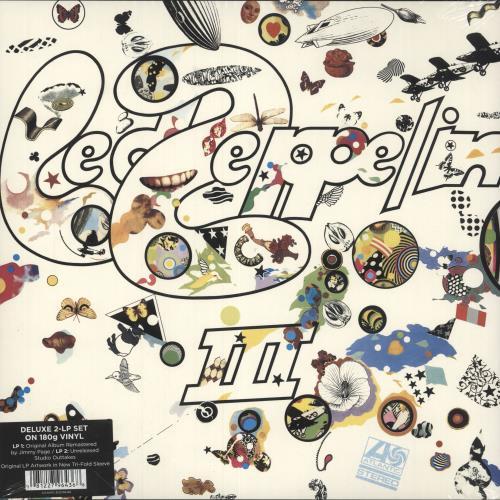 Led Zeppelin Led Zeppelin III - 180gm Vinyl - Sealed 2-LP vinyl record set (Double Album) German ZEP2LLE605350