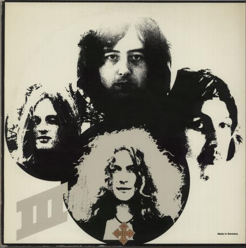 Led Zeppelin Led Zeppelin III - 2nd - German Sleeve vinyl LP album (LP record) UK ZEPLPLE661997