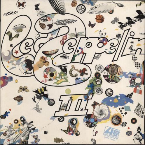 Led Zeppelin Led Zeppelin III - 7th - Ex vinyl LP album (LP record) UK ZEPLPLE681621