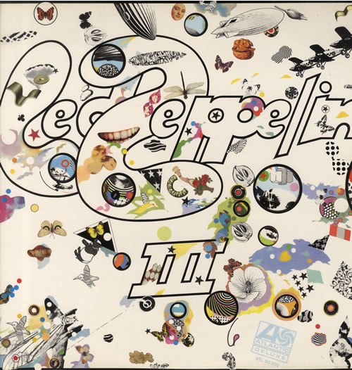 Led Zeppelin Led Zeppelin III - 80's issue vinyl LP album (LP record) German ZEPLPLE558223