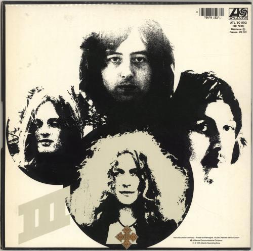 Led Zeppelin Led Zeppelin III - Barcoded Sleeve vinyl LP album (LP record) German ZEPLPLE329450