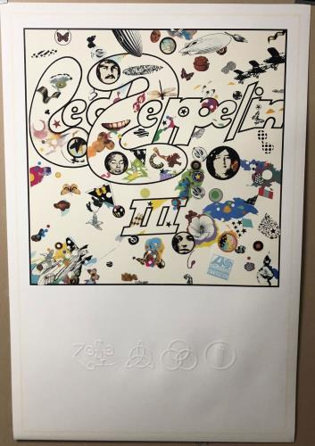 Led Zeppelin Led Zeppelin III poster UK ZEPPOLE646048