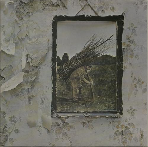 Led Zeppelin Led Zeppelin IV - 11th + Inner - EX - WOS vinyl LP album (LP record) UK ZEPLPLE646188