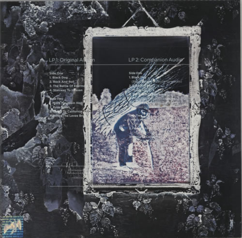 Led Zeppelin Led Zeppelin IV - 180gm - Sealed 2-LP vinyl record set (Double Album) German ZEP2LLE609501