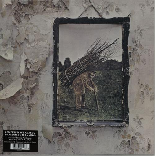 Led Zeppelin Led Zeppelin IV - 180gm Vinyl - Sealed vinyl LP album (LP record) UK ZEPLPLE609506